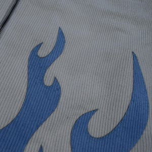 Image of Coral Blue #3 Flame Jacket