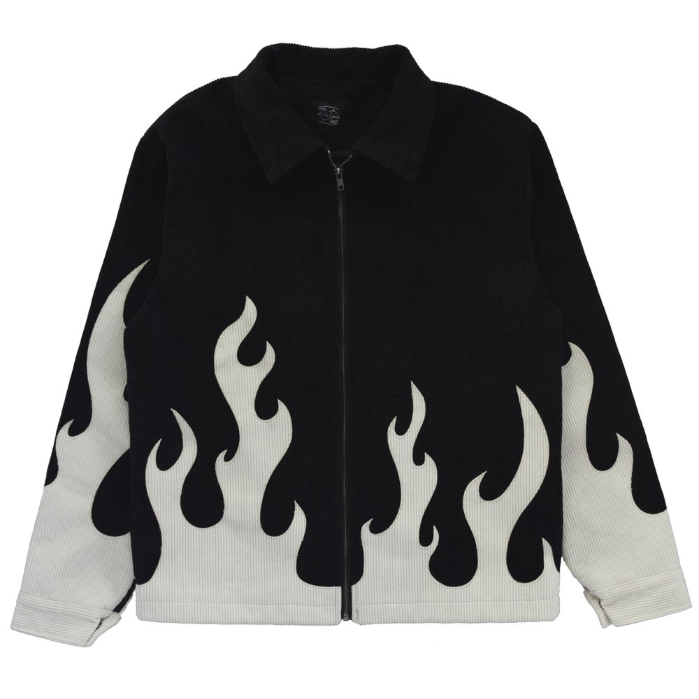 """Image of """"Emo Ass"""" Flame Jacket"""