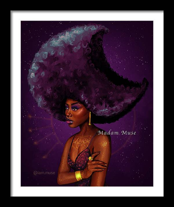 """Image of """"Cancer Moon Goddess"""" Open Edition Prints"""