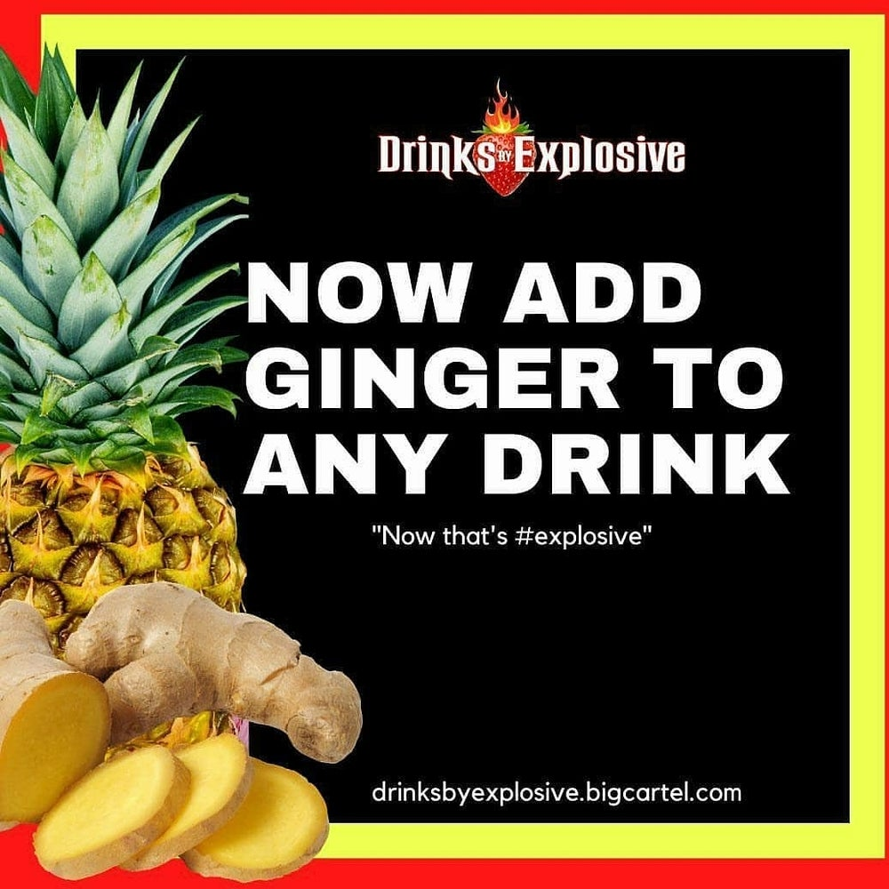 Image of Add ginger to your drink of choice