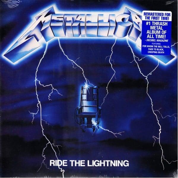 "METALLICA - ""Ride The Lighting"" LP"
