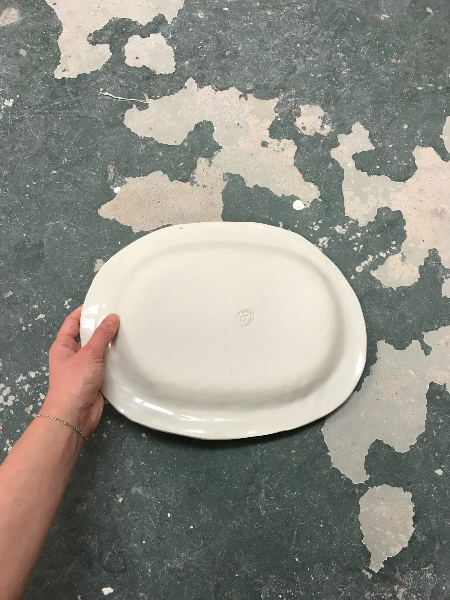 Image of PLATE 32x24CM