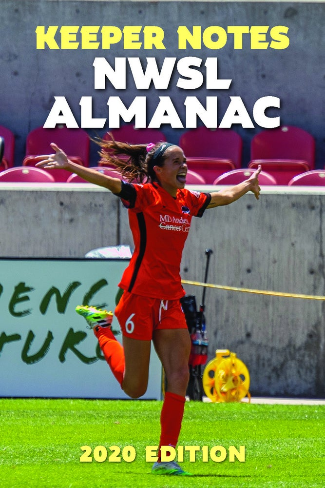Image of 2020 Keeper Notes NWSL ALMANAC — PRINT (w/PDF option) — PRE-ORDER