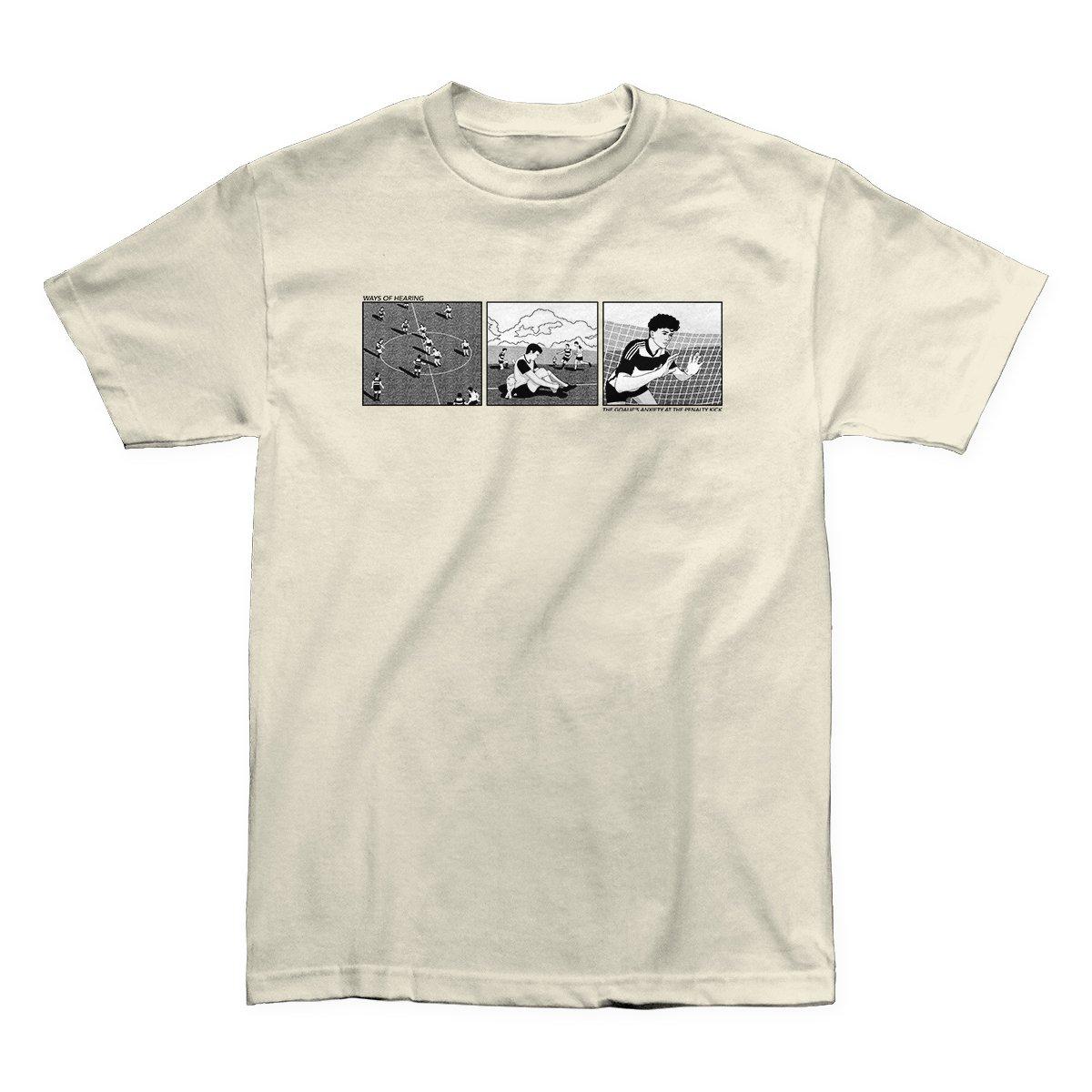 "Image of cream ""goal"" shirt"
