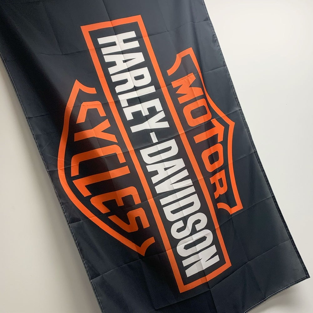 Image of Harley Davidson Flags (3' x 5')