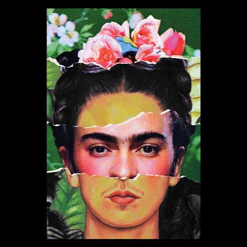 "Image of 12x18 ""Frida Kahlo""  Print"
