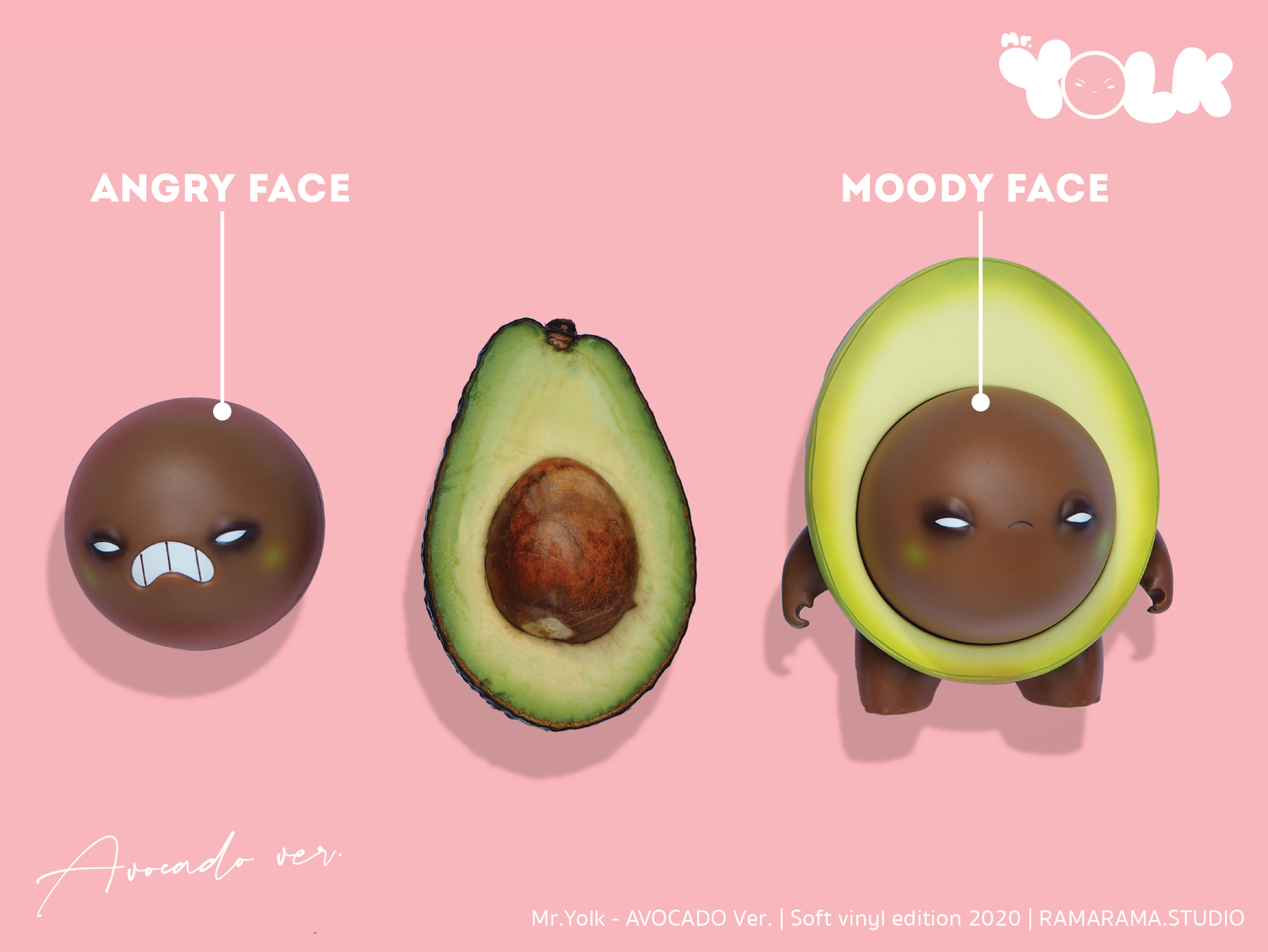 Image of Mr. Yolk【 Avocado Version 】