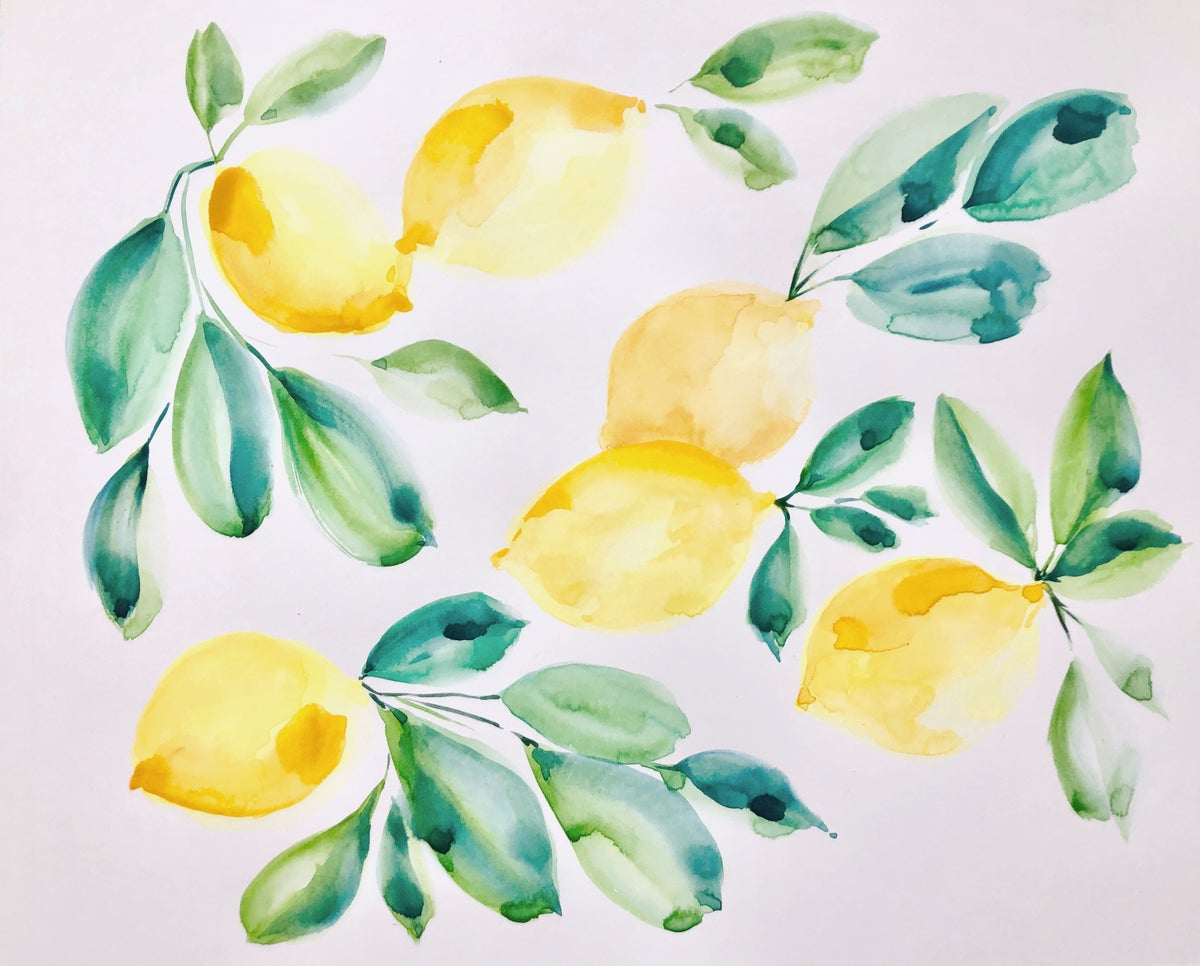 Image of Learn How to Paint Lemons
