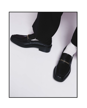 PLACEBO GOLD CHAIN LOAFER
