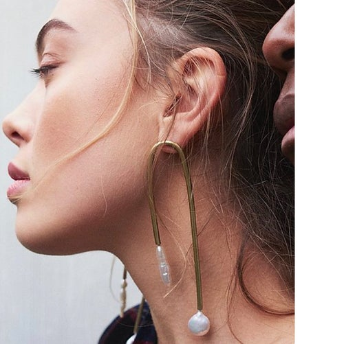 Image of ORTAY LUNAR and ORTAY ARC Earrings by Ruby Jack (was $1,200)