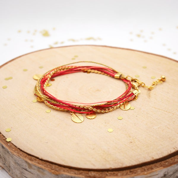 Image of Bracelet Lou Rouge