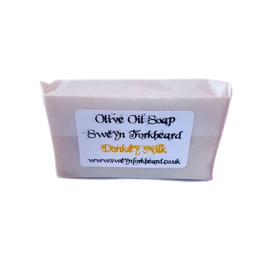 Image of Donkey Milk Olive Oil Soap - Natural anti-aging (Pack of 2)