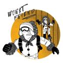 Worst Friend | Unisex Hoodie