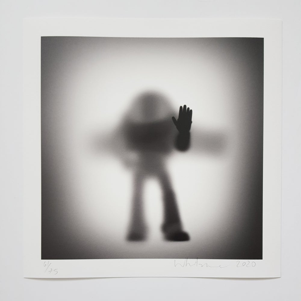 """Image of GONE """"ASTRONAUT""""- LIMITED EDITION PRINT 75- 35CM X 35CM"""