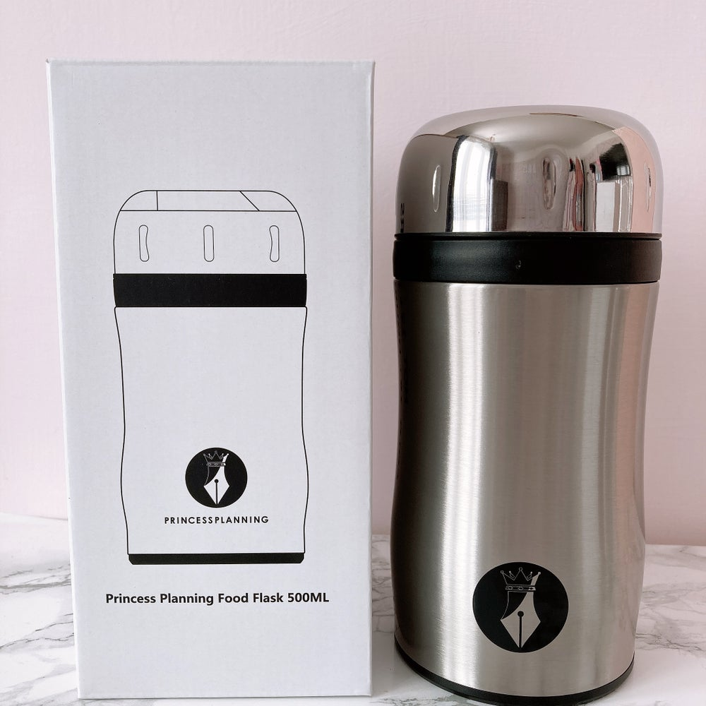 Image of PRINCESS PLANNING STAINLESS STEEL FOOD FLASK