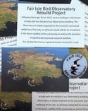 Fair Isle Bird Observatory Pin Badge