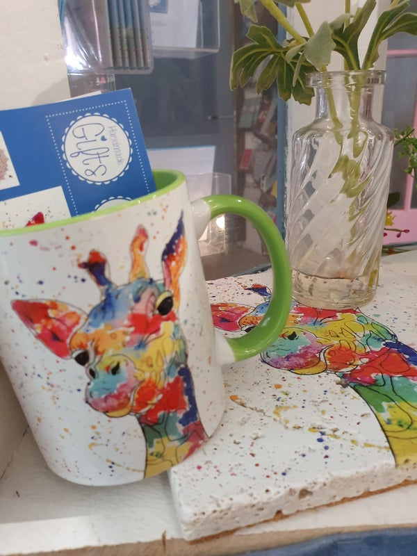 Image of Rainbow Giraffe Mug