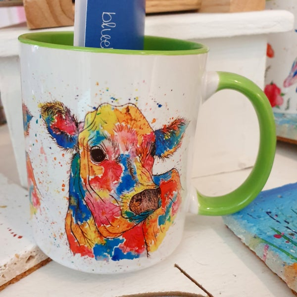 Image of Rainbow Cow Mug