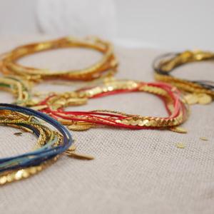Image of Bracelet Lou moutarde