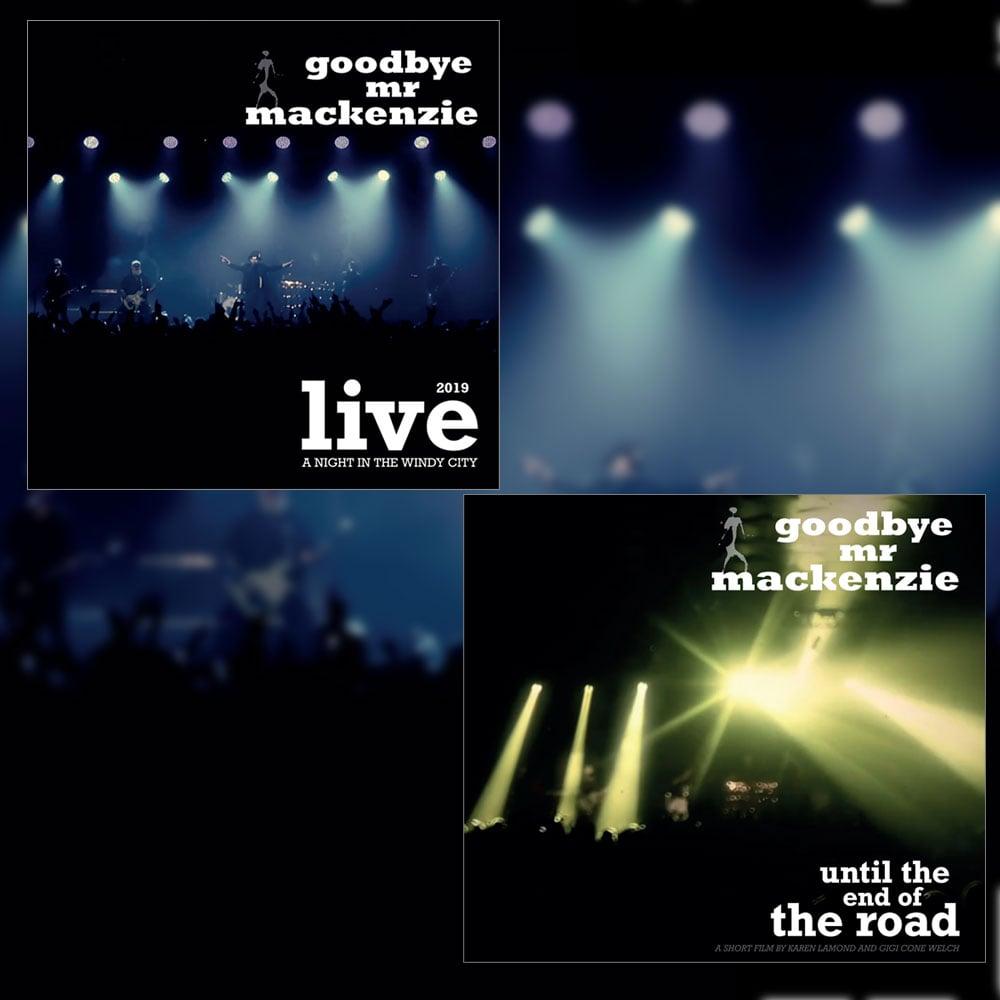 Image of Live CD & DVD Bundle