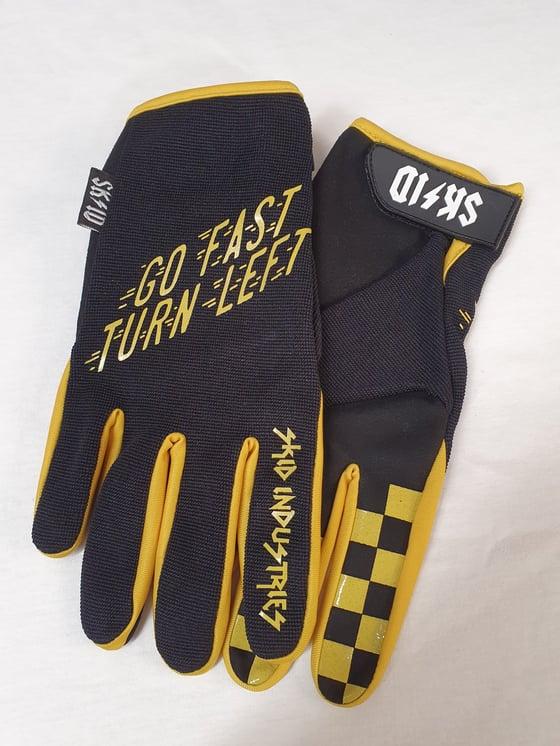 Image of Skid Go Fast Turn Left Glove
