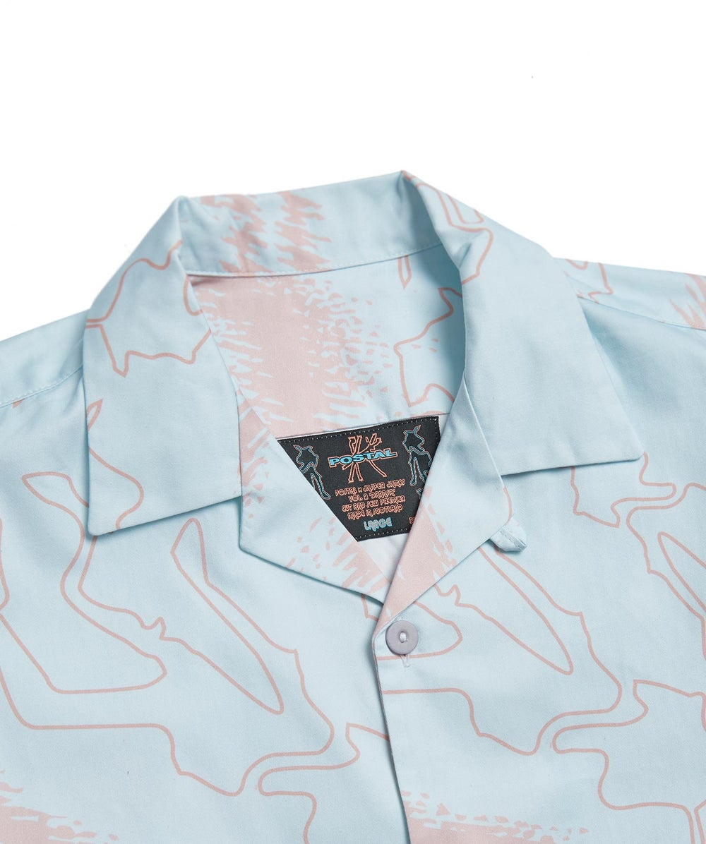 Postal x Jasper James Vol.2 'Dannsa' XTC Shirts Blue