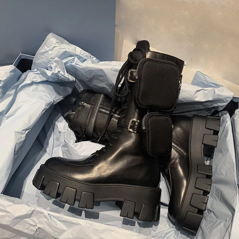 "Image of ""Rocket"" Rain Combat Boots"