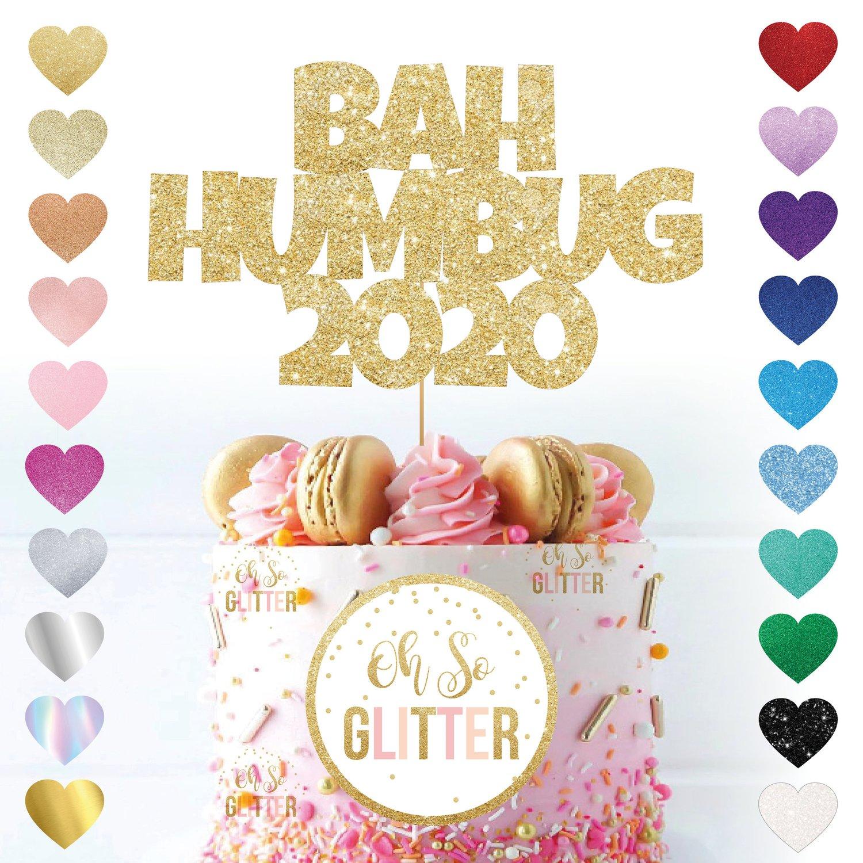 Image of Bah Humbug 2020 Cake Topper