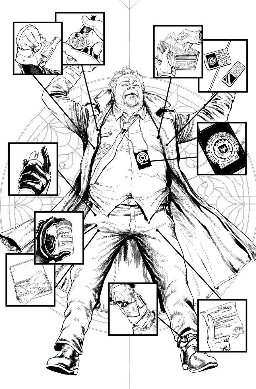 Image of Detective Comics #1027 p.06 ARTIST'S PROOF