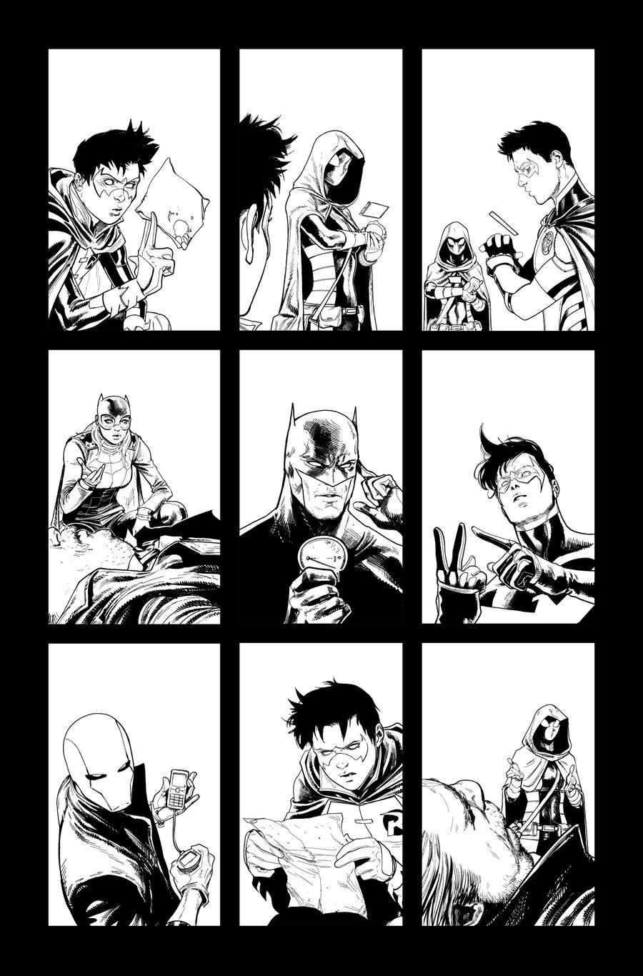 Image of Detective Comics #1027 p.07 ARTIST'S PROOF