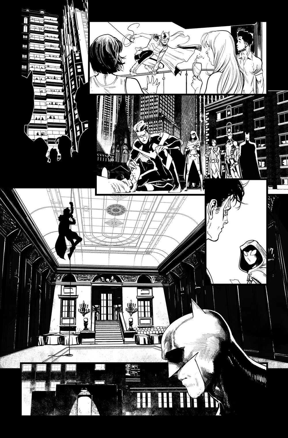 Image of Detective Comics #1027 p.09 ARTIST'S PROOF