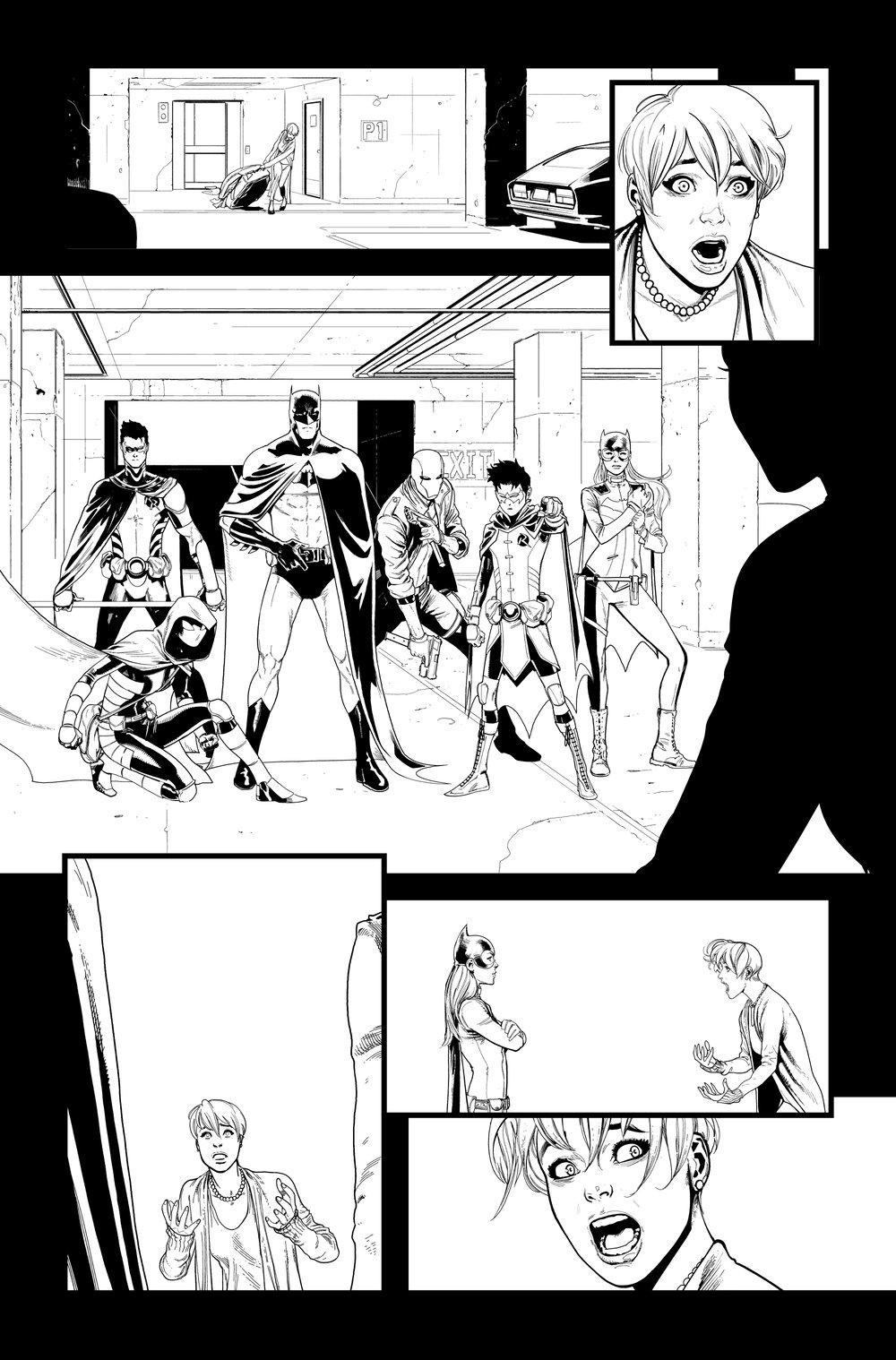 Image of Detective Comics #1027 p.10 ARTIST'S PROOF