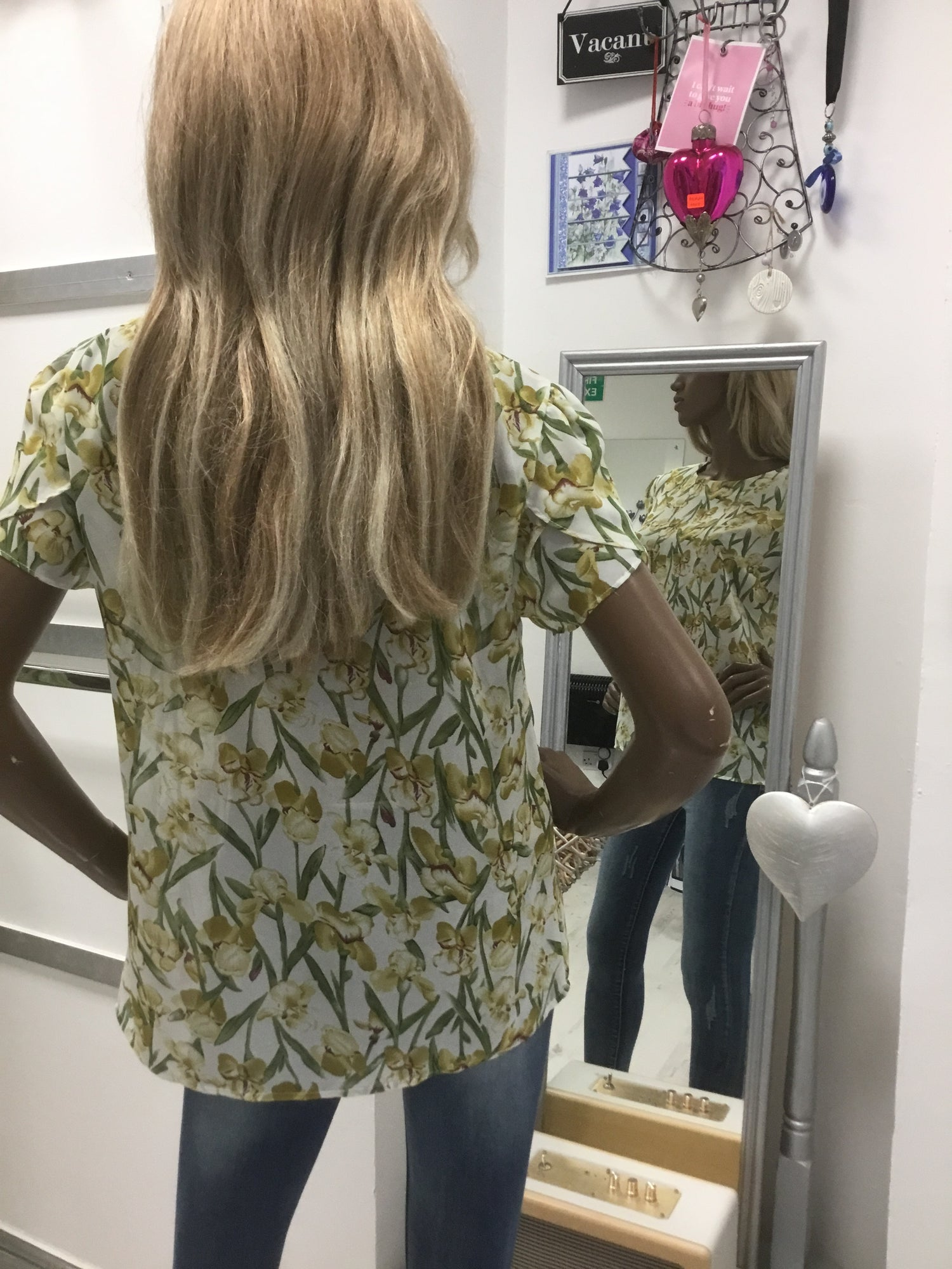 Image of FLORAL PRINT BLOUSE/TOP