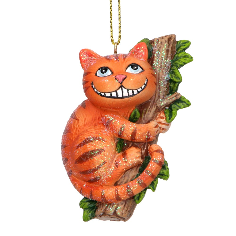 Image of Gisela Graham Cheshire Cat Tree Decoration