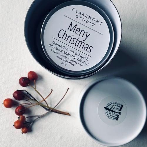 Image of Christmas Candle Set