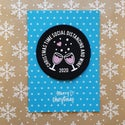 Christmas time social distancing & wine patch