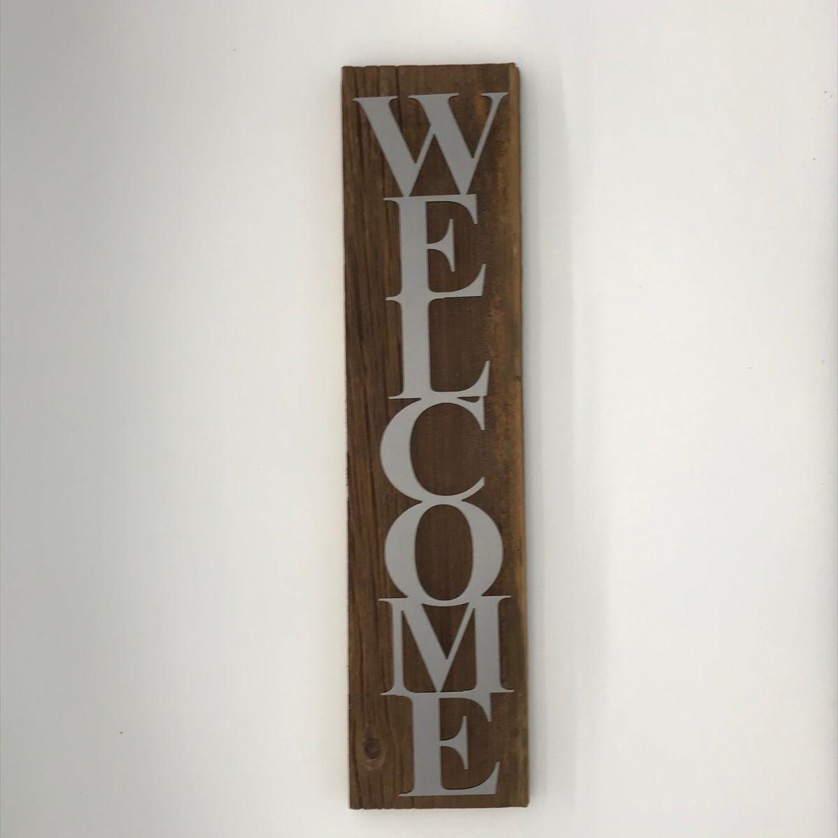 Welcome on Barnwood with Block Text