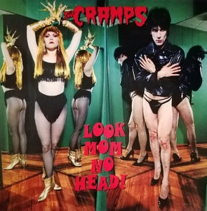 Image of LP. The Cramps : Look Mom No Head.   Orange/Pink vinyl.