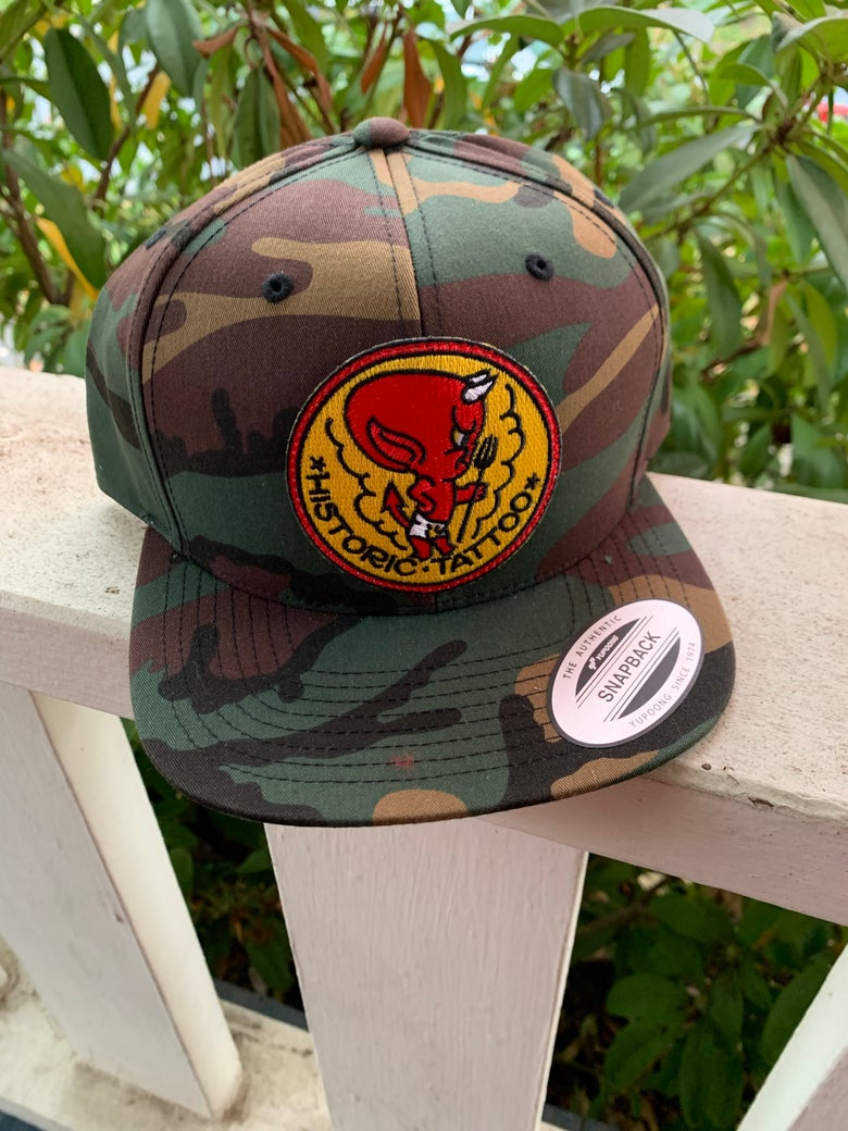 Image of Hot Stuff - Camo by Yupoong SnapBack
