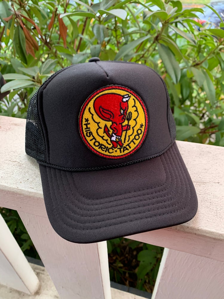 Image of Hot Stuff - Black hat by Otto brand