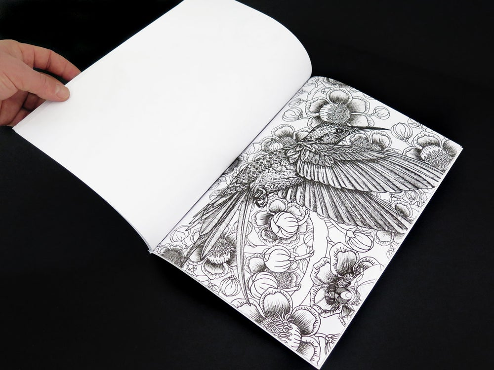Image of Colouring Book + Risograph print