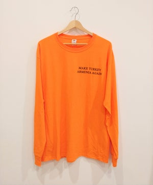 Image of Wilsonian Longsleeve - Uzkoosh Orange