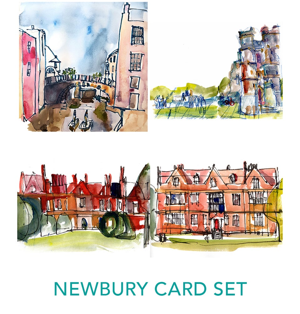 Image of Newbury Card Set by Isabel