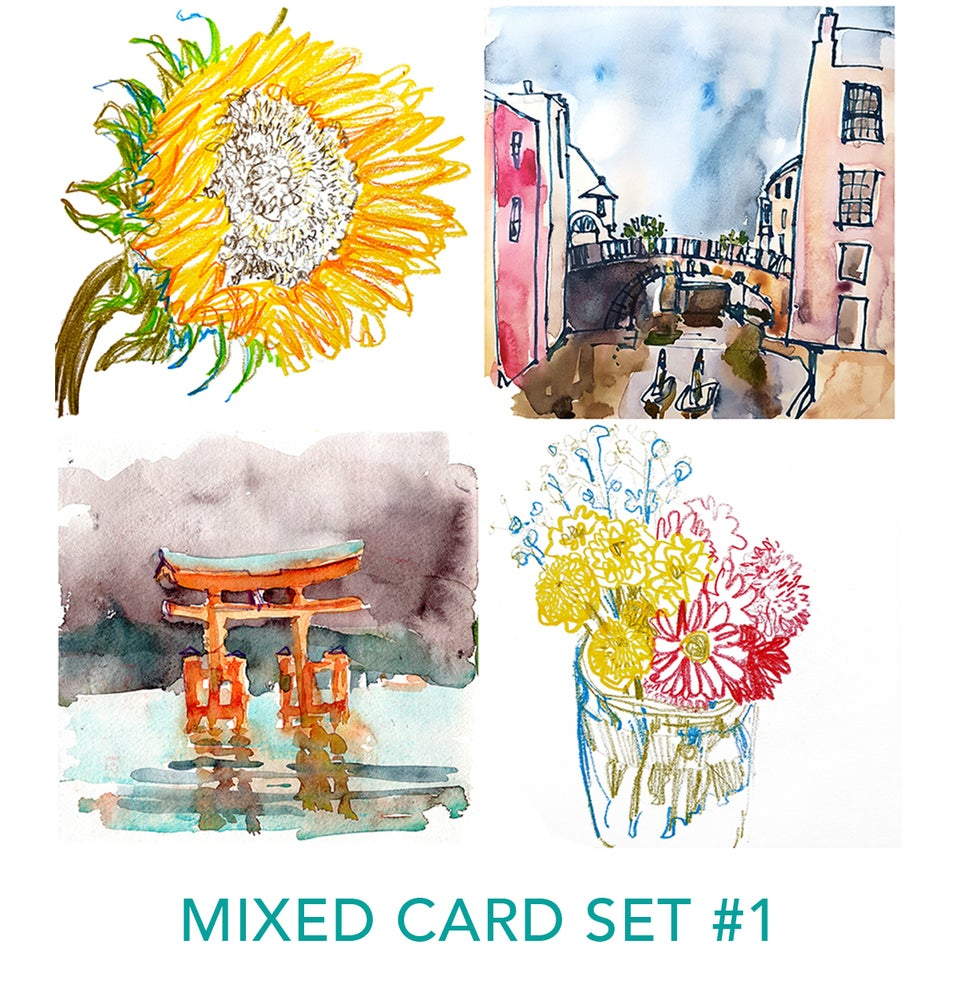 Image of Mixed Card Set by Isabel