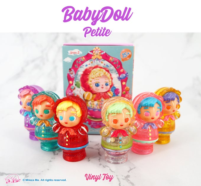 Image of 'BabyDoll Petite' Blind Box Series 2 [Complete Set of 6 pcs]