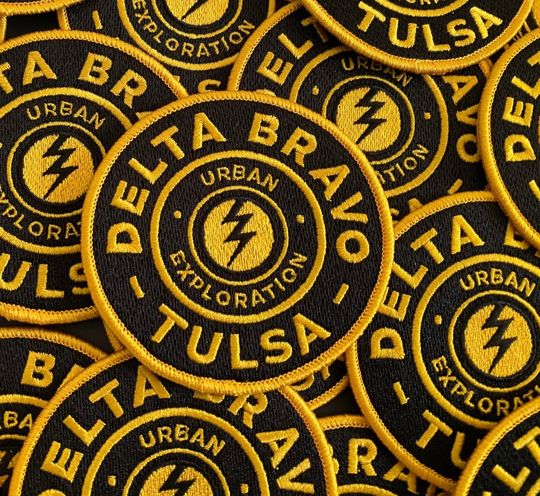 Image of Delta Bravo Urban Exploration Team Tulsa Patch.