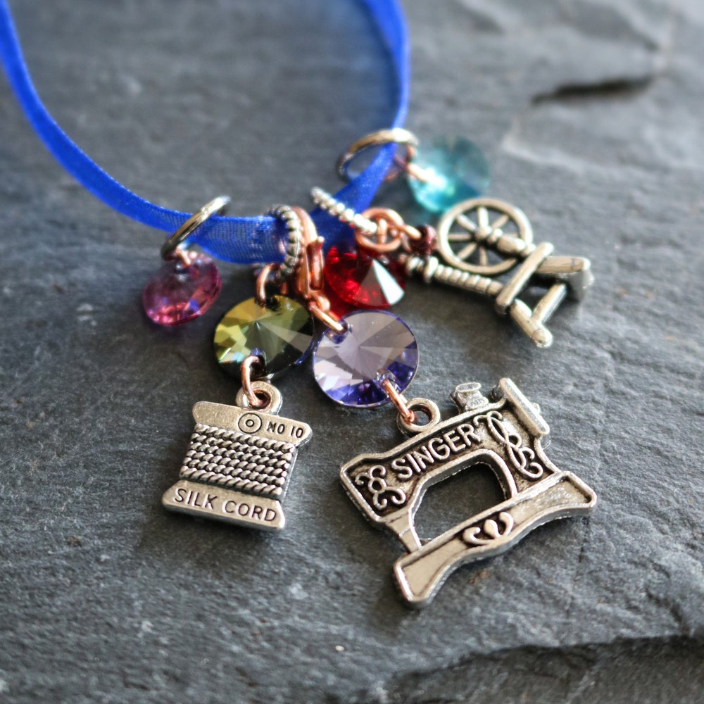 Image of FESTIVAL OF THREAD Crystal Stitchmarkers