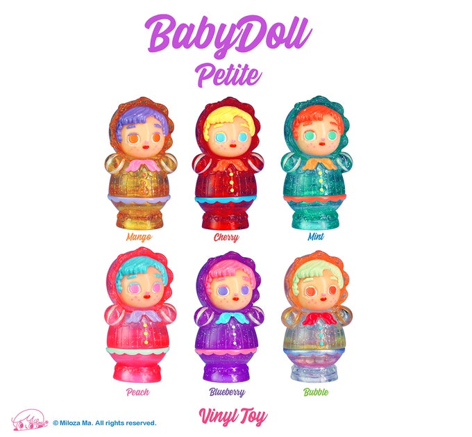 Image of 'BabyDoll Petite' Blind Box Series 2 [Single Box]