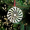 Wooden Christmas Decorations - Spiral