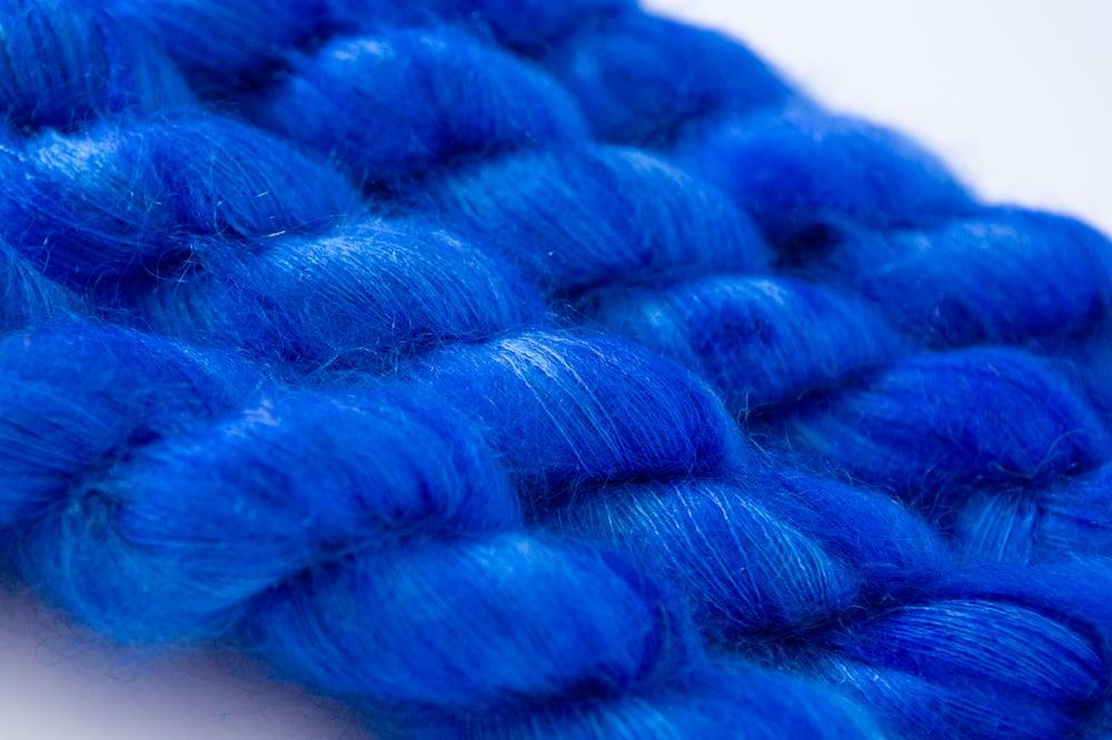 Image of Fluffy Lace - Azulino
